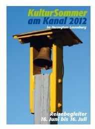 KulturSommer am Kanal 2012 - norden theaterproduktion Hamburg