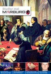 Studier mal Marburg - November 2016