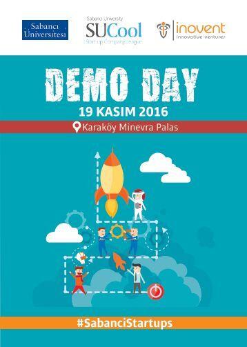 SabanciStartups Demo Day 2016