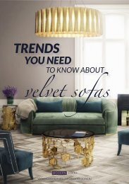 Trends you need to know about velvet sofas