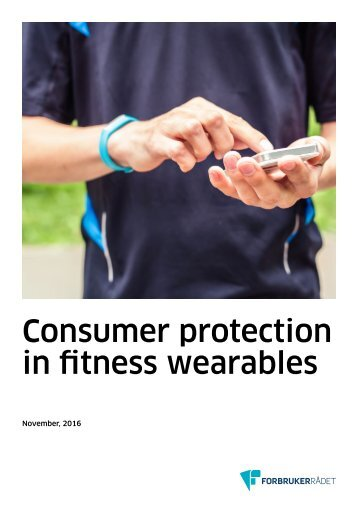 Consumer protection in fitness wearables