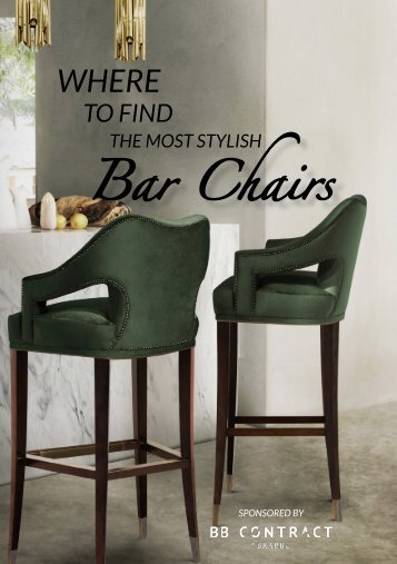 where to find the most stylish bar chairs