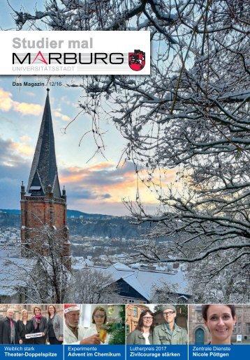 Studier mal Marburg - Dezember 2016