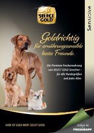 Select Gold sensitive Trockennahrung für den Hund