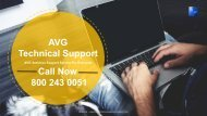 AVG Antivirus Support Number +1800-243-0051 – Support for AVG