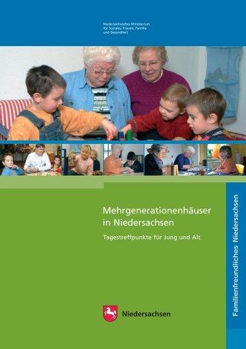 Mehrgenerationenhäuser in Niedersachsen - Wolfsburg AG