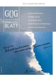 GUEG - Jahrbuch 2016