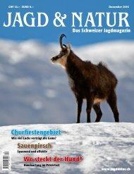 Jagd & Natur Ausgabe Dezember 2016 | Vorschau