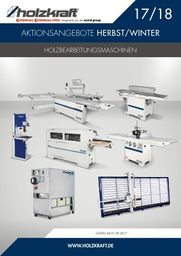 HOLZKRAFT Aktionskatalog