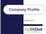 GoCloud Company Profile