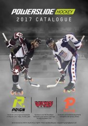 Powerslide Hockey Catalogue 2017