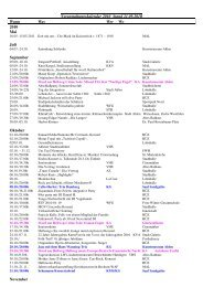 Veranstaltungskalender 2010 Stand 21.09.2010 ... - der Stadt Ahlen