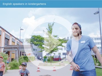 English speakers in kindergartens