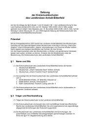 Satzung der Kreismusikschulen des Landkreises Anhalt-Bitterfeld