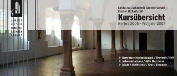 Ekkard Seidl - Kloster Michaelstein