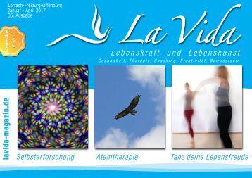 La Vida Magazin:  Ausgabe Jan. - April 2017