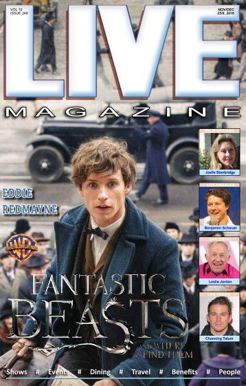 LIVE Magazine #248 Nov 25-Dec 9 2016
