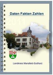 Raumstruktur - Landkreis Mansfeld-Südharz