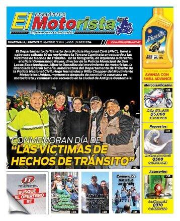 ELMOTORISTA Edicion 21 Noviembre