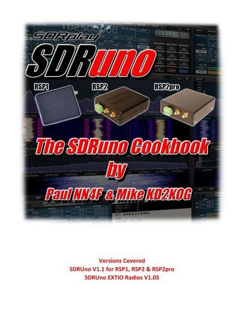SDRUno EXTIO Radios V1 05