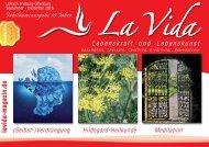 La Vida Magazin: Ausgabe Sept. - Dez. 2016