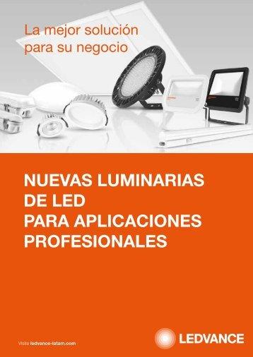 Catalogo de Luminarias LED - OSRAM
