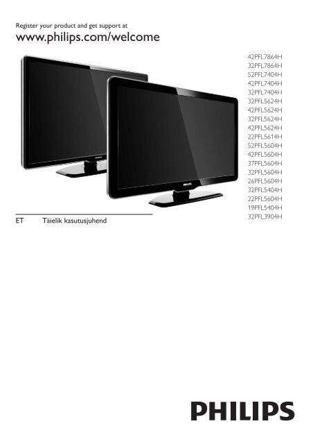 73b94b57869 Philips TV LCD - Mode d'emploi - EST