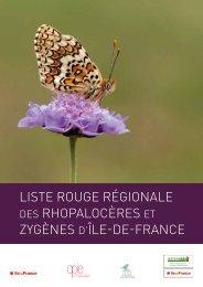 Rhopalocères Zygènes d'Île-de-France