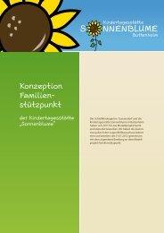 Konzeption - Kindergarten Sonnenblume