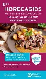 30 euro menu najaar 2016