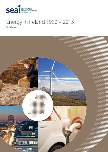 Energy in Ireland 1990 – 2015