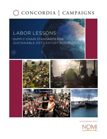 LABOR LESSONS