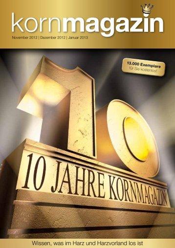 10 Jahre - Stadt Osterode am Harz