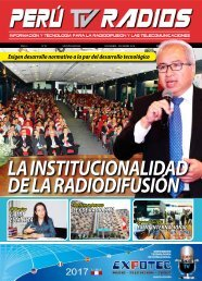 REVISTA PERÚ TV RADIOS Nov - Dic 2016