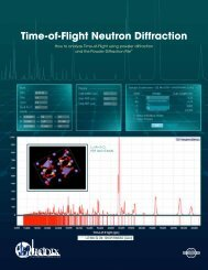 Time-of-Flight Neutron Diffraction