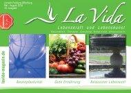 La Vida Magazin Ausgabe: Mai - Aug. 2016