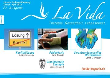 La Vida Magazin: Ausgabe Jan. - April 2014