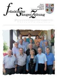 Nummer 4 57. Jahrgang Juli/August 2010 Zeitung - Fränkischer ...