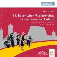 Donnerstag, 18. Oktober 2012 - Verband Bayerischer Sing
