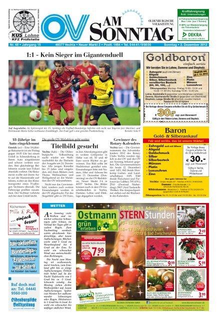 OV am Sonntag - Oldenburgische Volkszeitung  OV am Sonntag -...