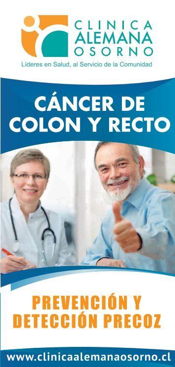 CÁNCER DE COLON Y RECTO