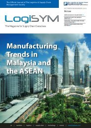 Manufacturing Trends in Malaysia and the ASEAN