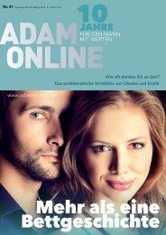 Adam online Nr. 41 Vorschau