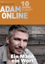 Adam online Nr. 43 Vorschau