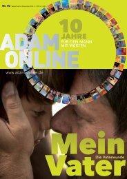 Adam online Nr. 40 Vorschau