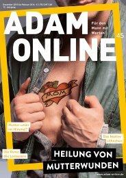 Adam online Nr. 45 Vorschau