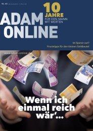 Adam online Nr. 42 Vorschau