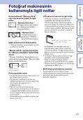 Sony DSC-W180 - DSC-W180 Istruzioni per l'uso Turco - Page 3
