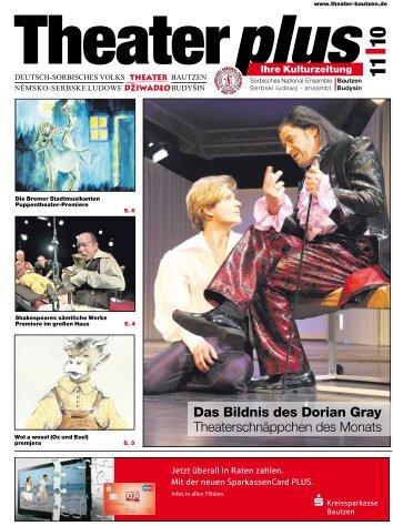 Das Bildnis des Dorian Gray - Deutsch-sorbisches Volkstheater