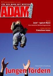 Adam online Nr. 09 Vorschau